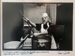 Photo Tzitzko Abinun Jewish Cooking Budapest Vintage Silver Gelatin Photograph