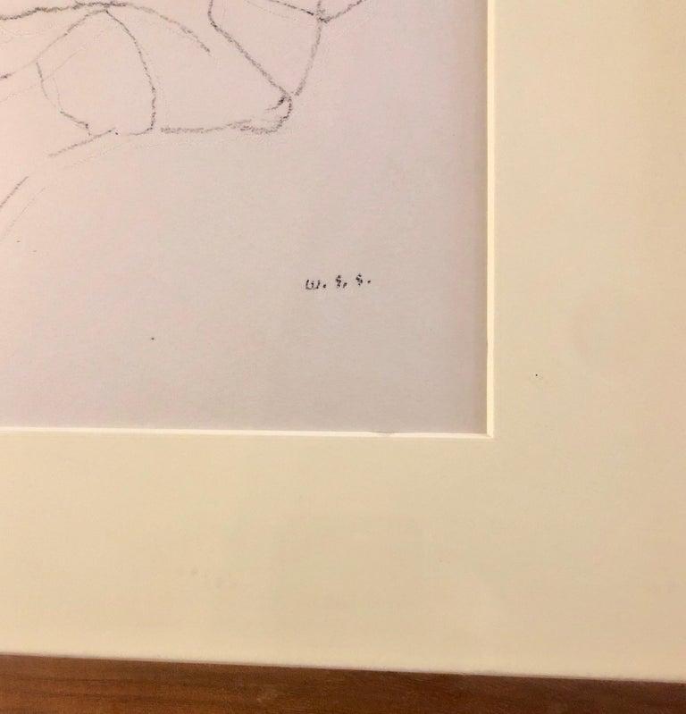 William S. Schwartz - Chicago Modernist Line Drawing