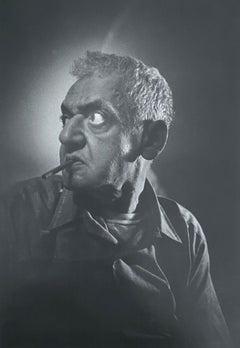 Vintage Silver Gelatin Print Photograph Weegee Arthur Fellig Photo Portrait