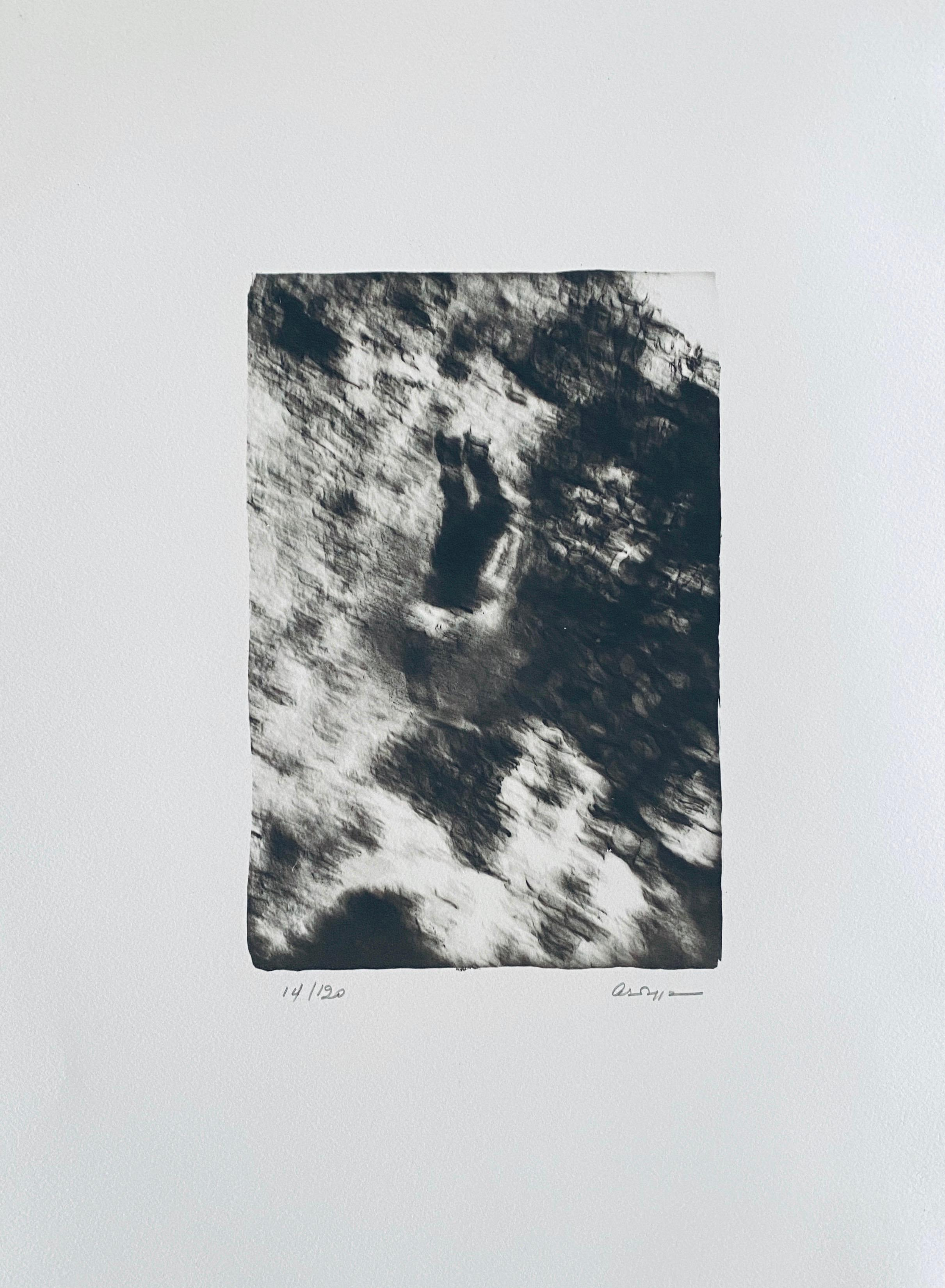 French Contemporary Collotype Photograph Black White Photo Andre Naggar