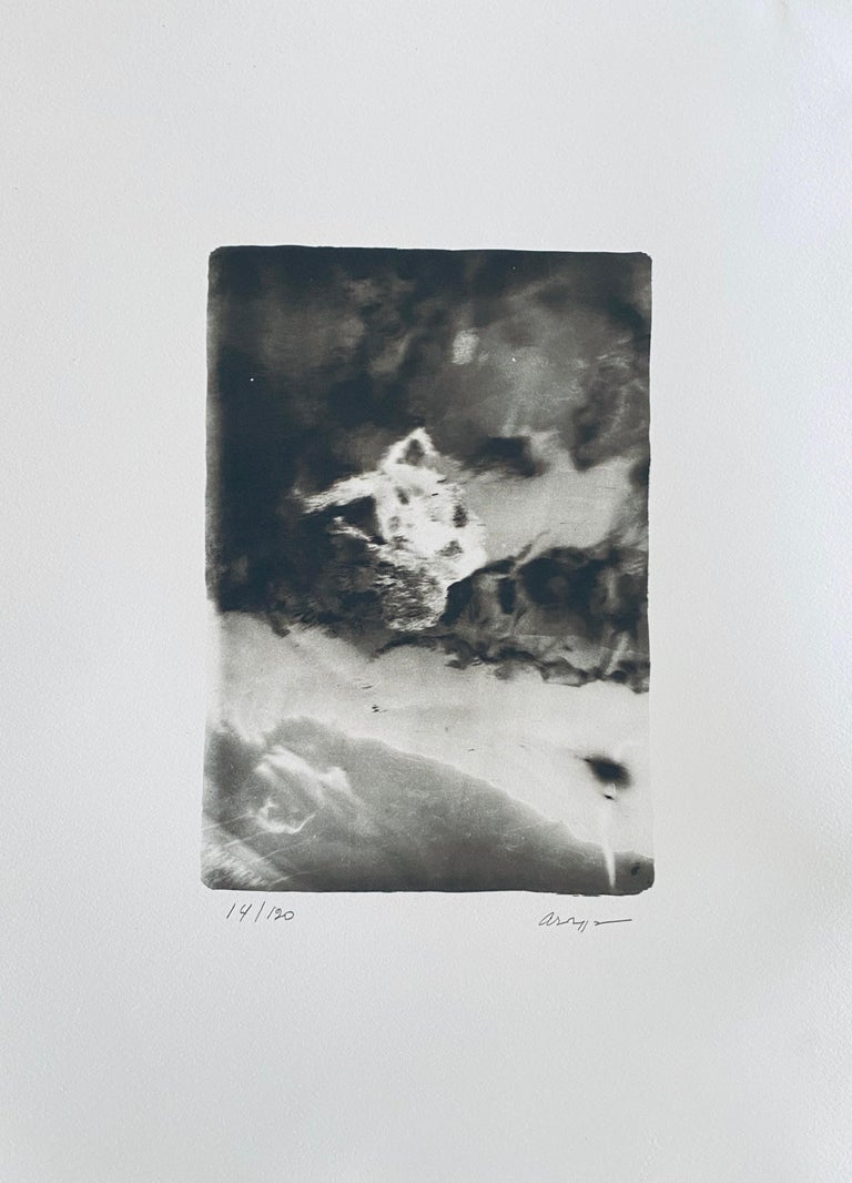 French Contemporary Collotype Photograph Black White Photo Andre Naggar - Gray Figurative Photograph by Andre Naggar