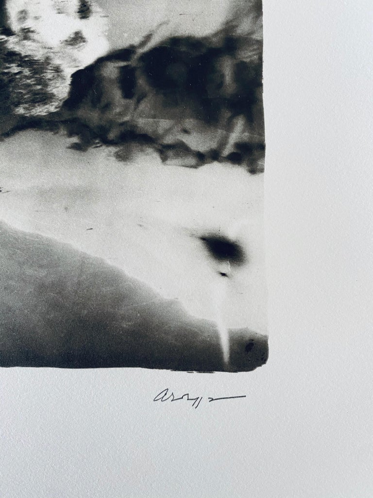 French Contemporary Collotype Photograph Black White Photo Andre Naggar For Sale 3