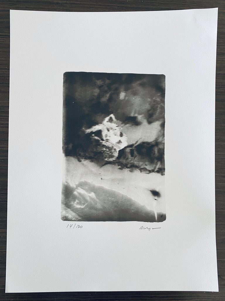 French Contemporary Collotype Photograph Black White Photo Andre Naggar For Sale 5