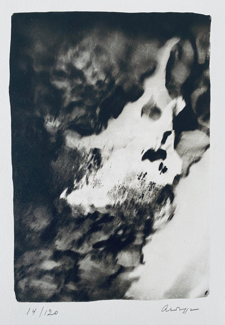 French Contemporary Collotype Photograph Black White Photo Andre Naggar For Sale 1