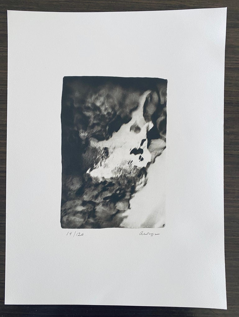 French Contemporary Collotype Photograph Black White Photo Andre Naggar For Sale 4