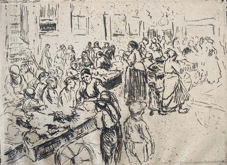 Max Liebermann (20 July 1847 – 8 February 1935) was a German painter and printmaker of Ashkenazi Jewish ancestry, and one of the leading proponents of Impressionism in Germany.  The son of a Jewish fabric manufacturer turned banker[1] from Berlin,
