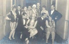 German Jewish Weimar Era Silver Gelatin Photograph Pre War Judaica Costume Party