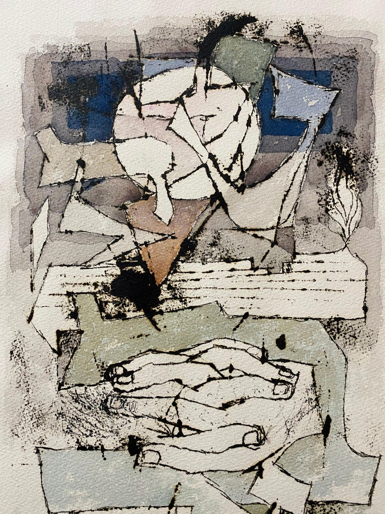 Moses Bahelfer BAGEL (1908-1995) Moses Bagel (born Moshe Bahelfer) was a Polish-born Jewish artist and graphic designer associated with the original Bauhaus and then the School of Paris (Ecole de Paris) Moshe Bagelferyches was born on June 29 , 1908