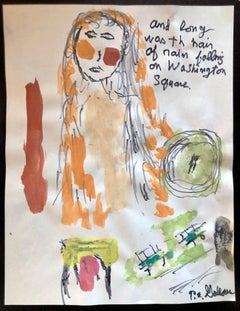 Watercolour Abstract Drawings and Watercolours