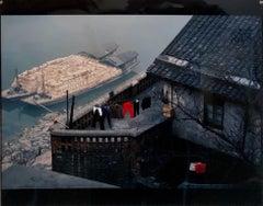 Vintage Photograph Cibachrome Chongqing Yangtze River China Color Photo Print