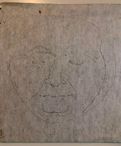 Boston Abstract Expressionist Hyman Bloom Original Pencil Drawing Martin Sumers