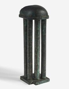 Bronze Architectural Model Sculpture Tempio Bretton Architecture Maquette
