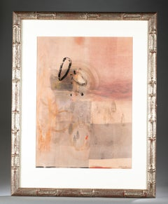 Mixed Media Abstract Modernist Painting Dean Nimmer