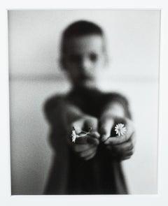 Machiel Botman Vintage Silver Gelatin Photograph Print IJKE 1993 Photo Flowers