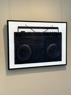 Black Boombox Lightbox