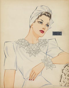 Miriam Haskell Jewelry Advertisement