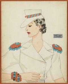 Miriam Haskell Jewelry Advertisement