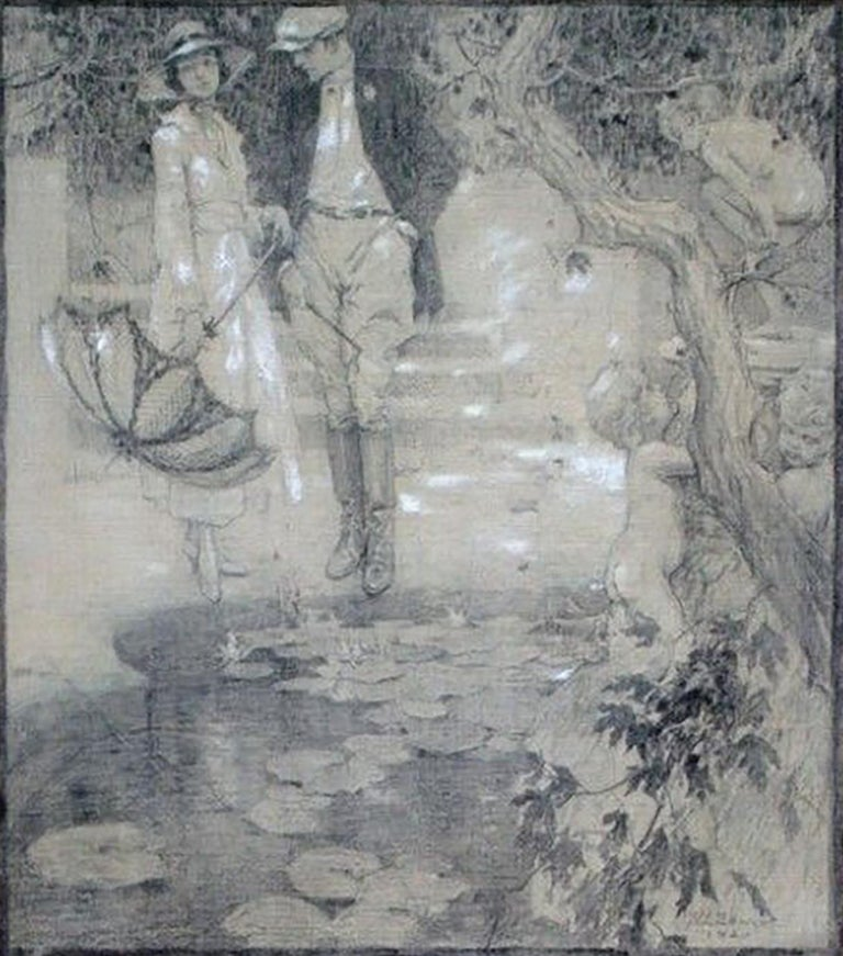 Maurice L. Bower Landscape Art - (Untitled)