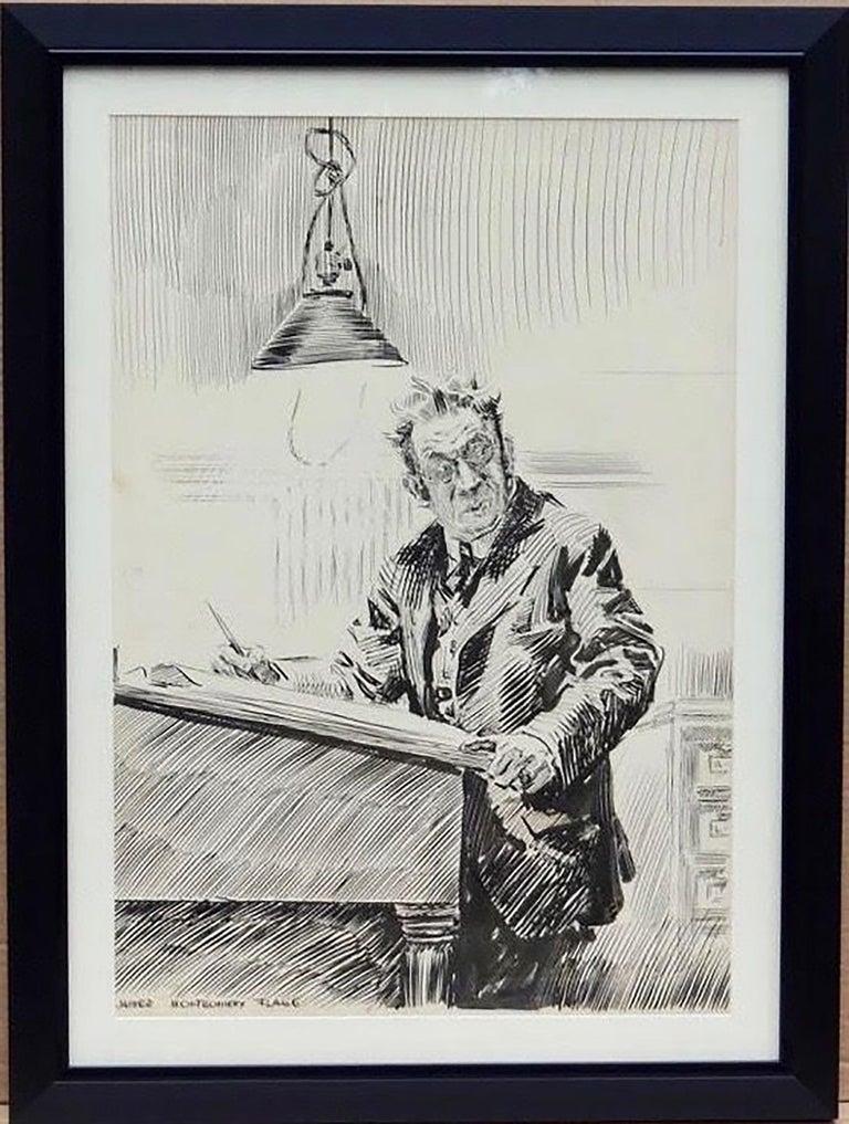 Mr. Bingle - Art by James Montgomery Flagg