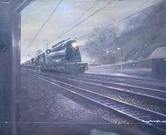 CA 4853 Train at Night