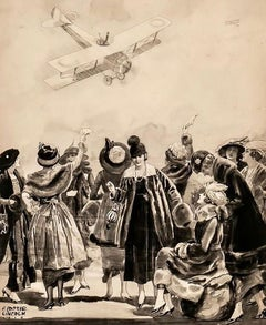 A Dangerous Landing, 1919