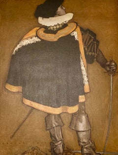 Cavalier Man with Sword