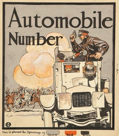 Collier's Weekly Cover, Automobile Number