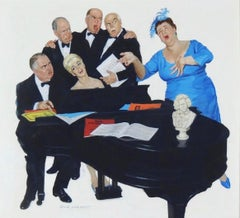 The Fat Lady Sings, Saturday Evening Post Cover