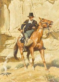 Officer on Horseback