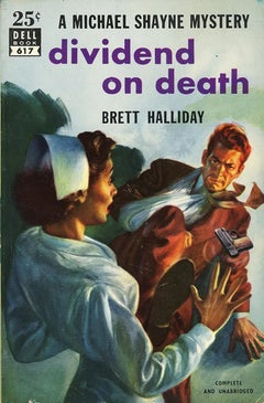 Dividend on Death- Paperback Cover