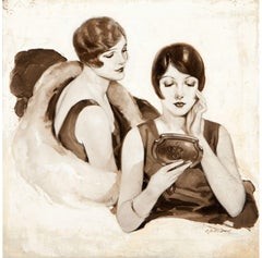 What Folly to Endure Coarse Pores? Advertisement Illustration