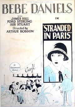 """""""Stranded in Paris"""" Movie Poster"""