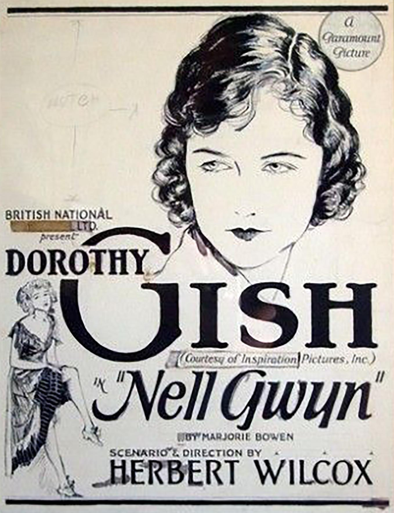 """Nell Gwyn"" Movie Poster"
