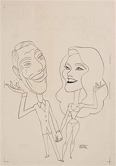 "Caricature Portraits to Promote ""The Andy Williams Special"""