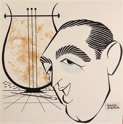 Caricature of Percy Faith