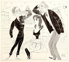 """1959 Broadway Production of """"The Moonbird"""""""