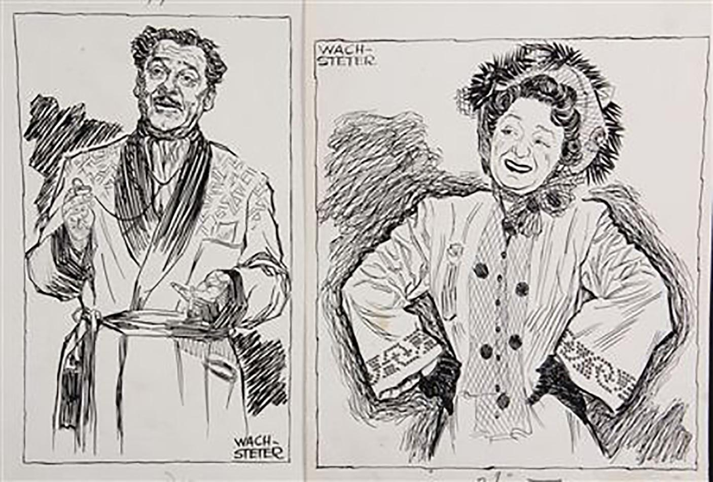 """Arthur Margetson in """"The Play's the Thing"""" & Molly Picon in """"For Heaven's S"""