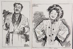 "Arthur Margetson in ""The Play's the Thing"" & Molly Picon in ""For Heaven's S"