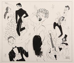 "1958 Broadway Musical Revue, ""International Soiree"""
