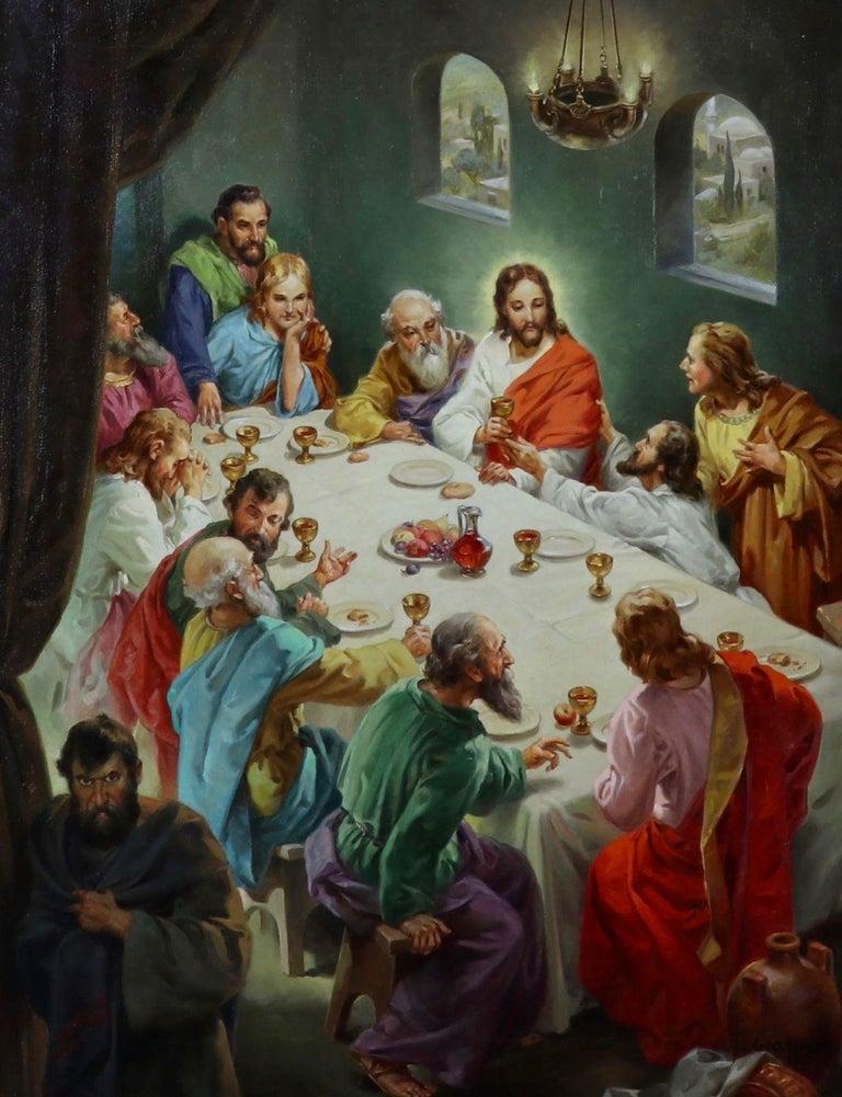 George Hinke Interior Painting - The Last Supper
