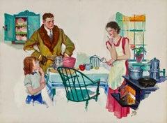Family Breakfast, 1935