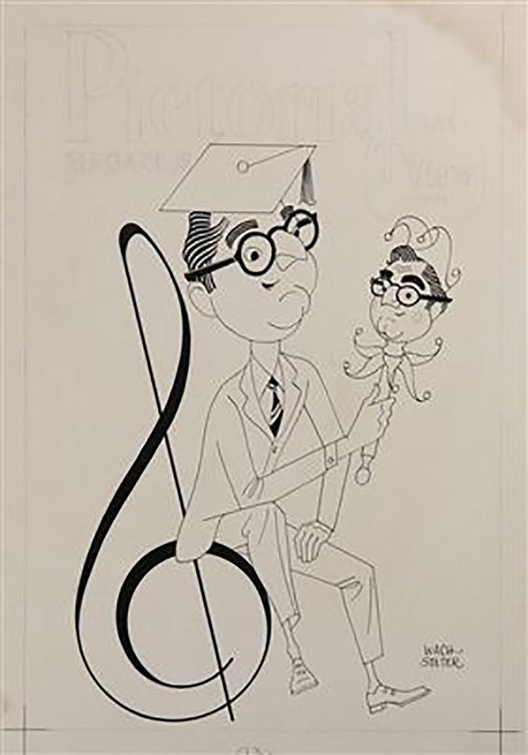 "George Wachsteter Figurative Art - ""The Steve Allen Show"""