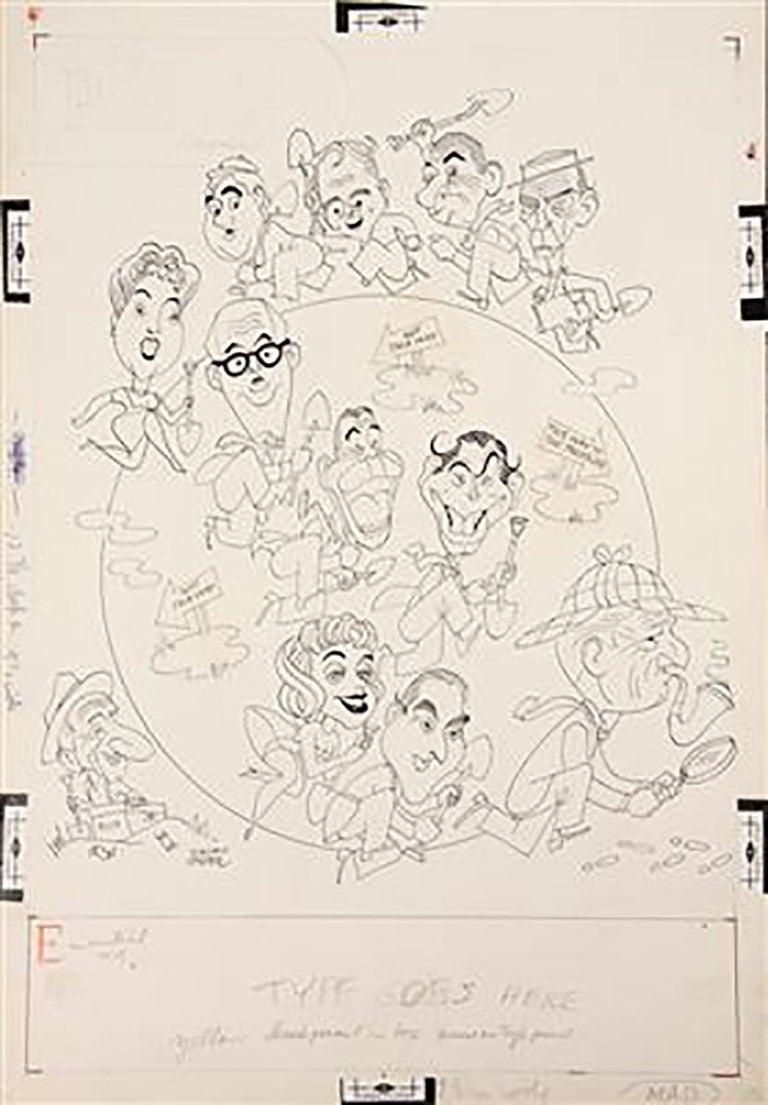 "George Wachsteter Figurative Art - ""It's a Mad, Mad, Mad, Mad World"""