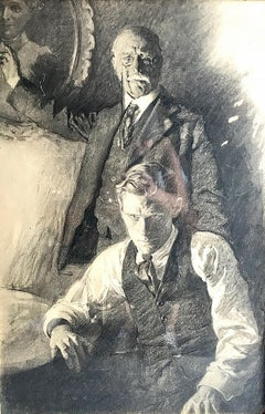 1910s Figurative Drawings and Watercolors