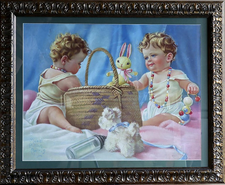 Baby Love - Art by MABEL ROLLINS HARRIS