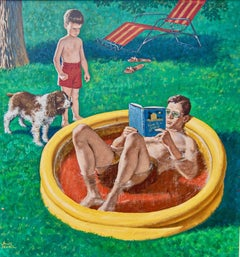 Wading Pool, Saturday Evening Post Cover