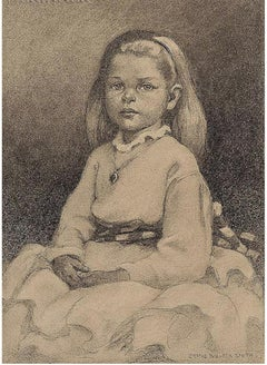 Portrait of Seated Girl