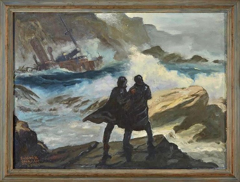 Toll of the Rocks - Art by Frederick Blakeslee