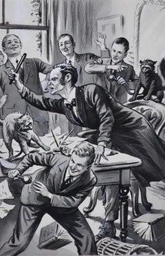'Three Jolly Cadets' Story Illustration