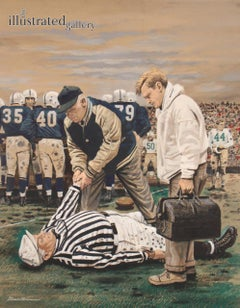 Ref Out Cold- Saturday Evening Post Cover